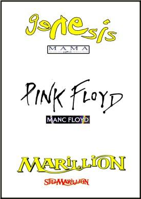 Mama - Genesis - Manc Floyd - Pink Floyd - StillMarillion - Marillion