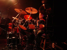 James on Drums at Aylesbury