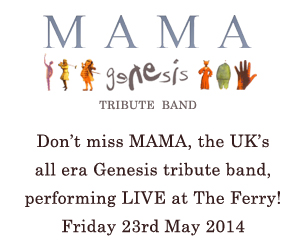 Mama live at The Ferry, Glasgow