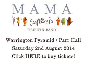 Mama at Warrington Parr Hall & Pyramid