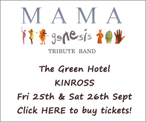 Mama Genesis Tribute Show at The Green Hotel, Kinross