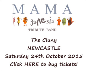 An Evening of Genesis with Mama - The Cluny, Newcastle