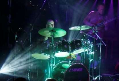 James on the drums for Mama Genesis