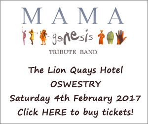 Mama Genesis at The Lion Quays Hotel Oswestry