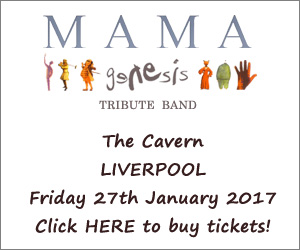 An evening of Genesis music The Cavern Liverpool