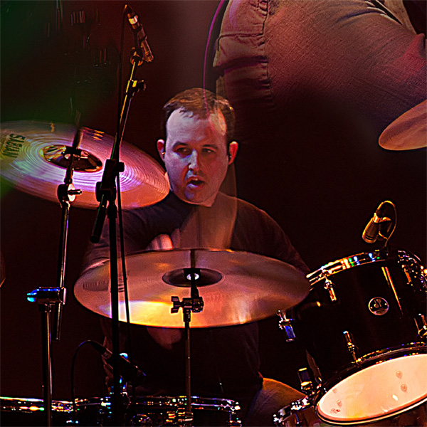 James Cooper, drummer with Mama