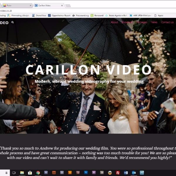 Carillon Video Website for wedding videos