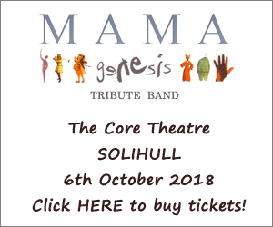 Mama Genesis Tribute Band at The Core Theatre, Solihull
