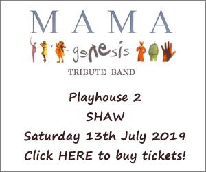 Mama (Genesis tribute band) at Playhouse 2, Shaw