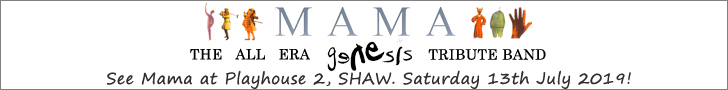 Mama (Genesis tribute band) at Playhouse 2, Shaw